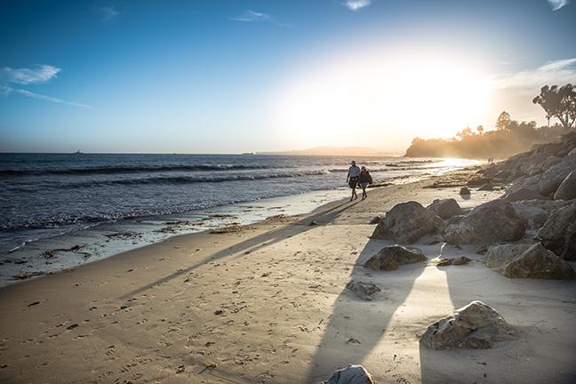 Butterfly Beach, Montecito, CA