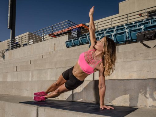 Outdoor Fitness Side Plank